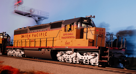Railworks America • View topic - UP SD40-2 Lights